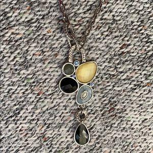 Lia Sophia Necklace with Stones
